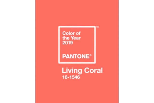 Коралловый – цвет 2019 года
